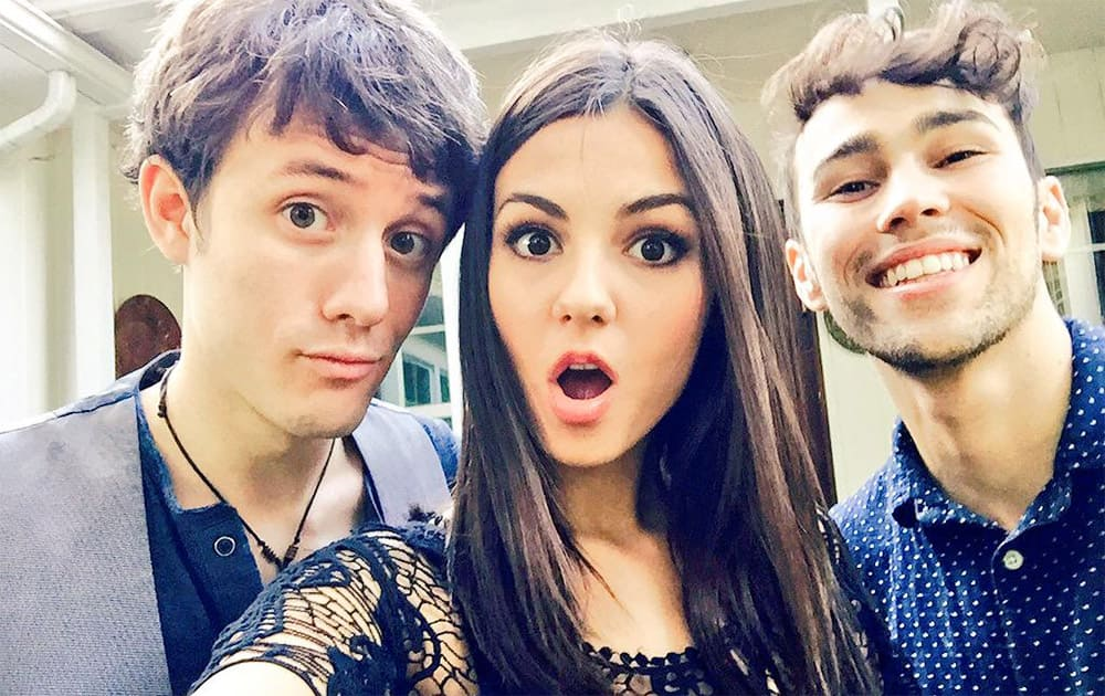 Only 2 more days until @KurtHSchneider & @Maxgschneider & I release our epic video. #1take Twitter @VictoriaJustice