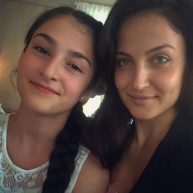 elli avram :- Happy Birthday to my beautiful lill cousin Sofia -instagram