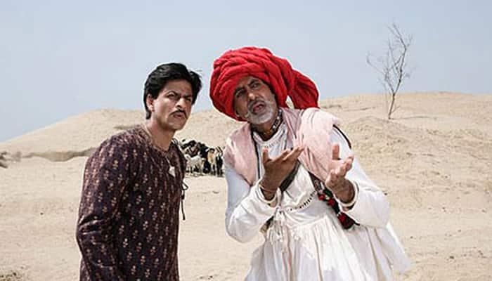 Amitabh Bachchan rejoices 10 years of  SRK's `Paheli`!