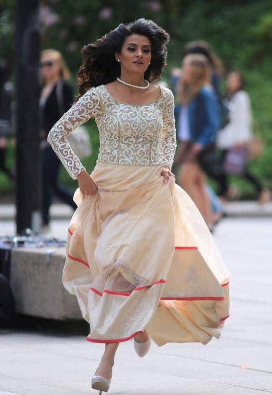 I will chase u down!#HeroNaamYaadRakhi 10th July. Twitter@SurveenChawla
