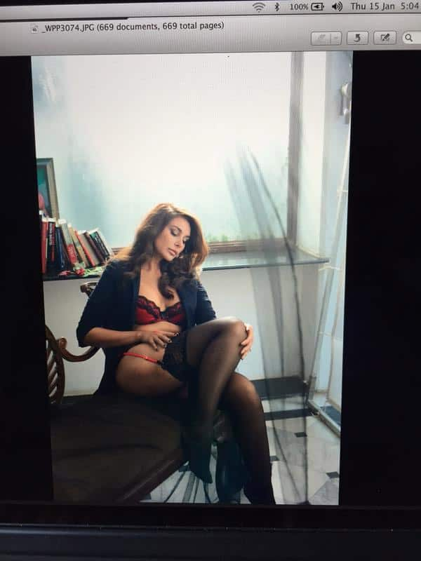 Coming soon, reliving my days as India's original pinup for @gqindia, shot by @farrokhchothia - Twitter@Lisaraniray
