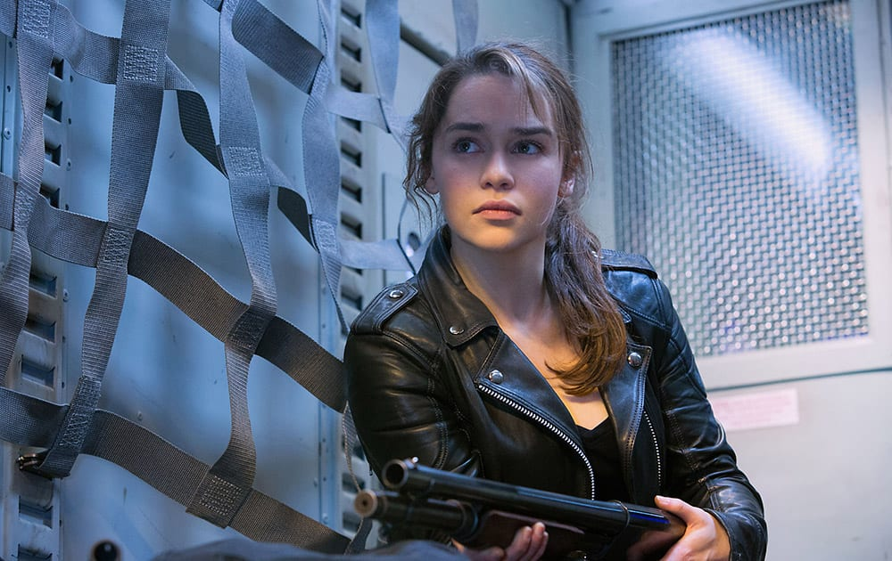 Emilia Clarke as Sarah Connor, in 'Terminator Genisys,' from Paramount Pictures and Skydance Productions.