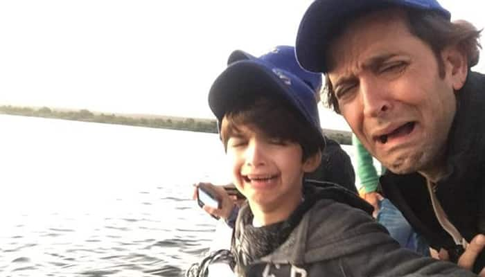 Hrithik Roshan takes kids crocodile hunting