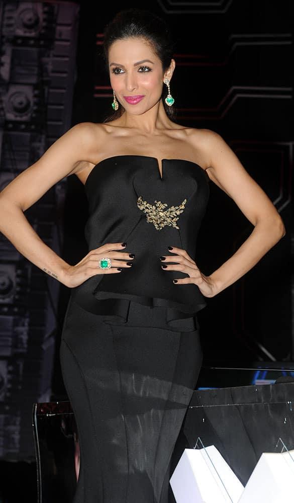 Malaika Arora Khan during the finale of India's Got Talent at Filmcity, Goregaon in Mumbai. -dna