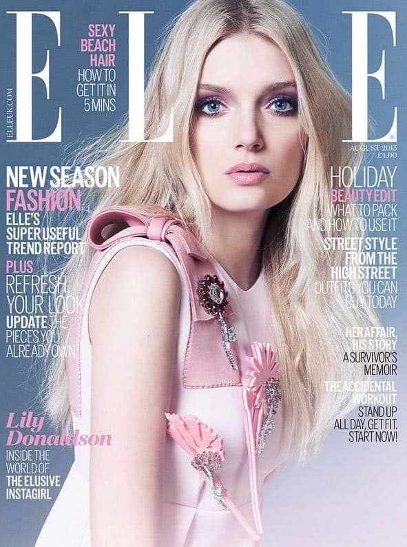 This is how to recreate @LilyMDonaldson's beautiful ELLE cover look at home: http://on.elleuk.com/1Tjc3Dc  Twitter@ELLEUK