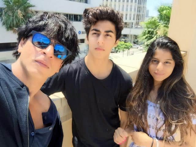 Had a lively & educative trip with my lil ones. A big thanx to Montage Hotel (Pradip) & L.A. Colleges. Now to work!  Twitter@iamsrk