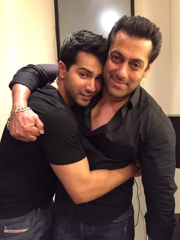 To my baby friend @Varun_dvn & my awesome brother @BeingSalmanKhan - Twitter@khanarpita
