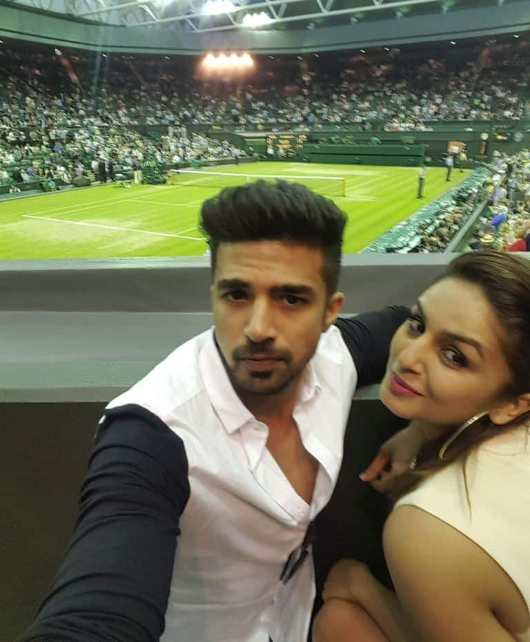 Huma Qureshi :- First time at #Wimbledon and super proud of @MirzaSania .. Thankooo for the privilege of watching u on fire #loveher -twitter