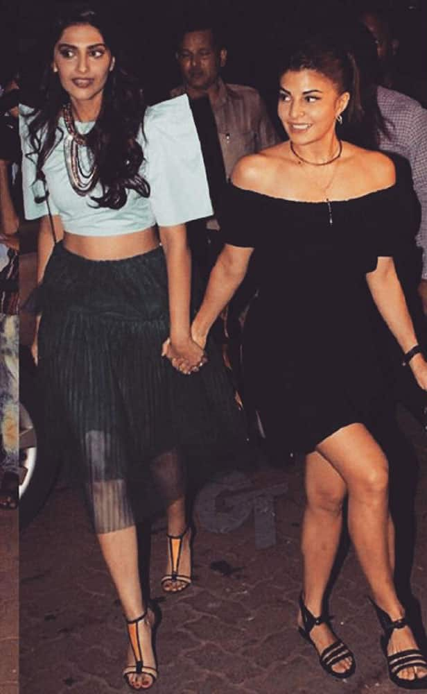Jacqueline Fernandez :- #bollywoodbestie she's got my back!!!  love you #sonesones tag your #bestie -instagram