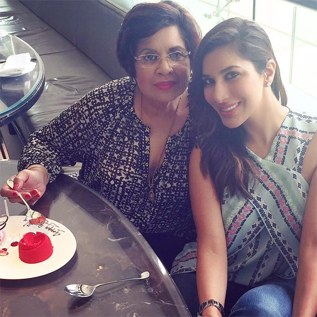 Happy b'day to my beautiful, amazing, inspiring mother.. Am the luckiest girl cos ur all mine! Love u so much. Twitter@Sophie_Choudry