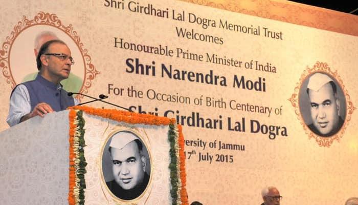Girdhari Lal Dogra was 'a man of high integrity': Jaitley