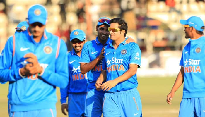 1st T20I: Axar Patel, Harbhajan Singh spin India to 54-run win against Zimbabwe