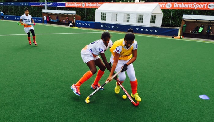 Indian jr eves to face Holland in Volvo hockey