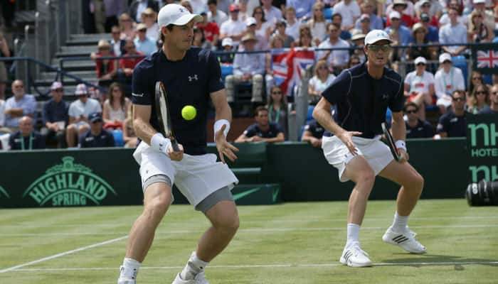 Davis Cup: Murray brothers join forces to sink France