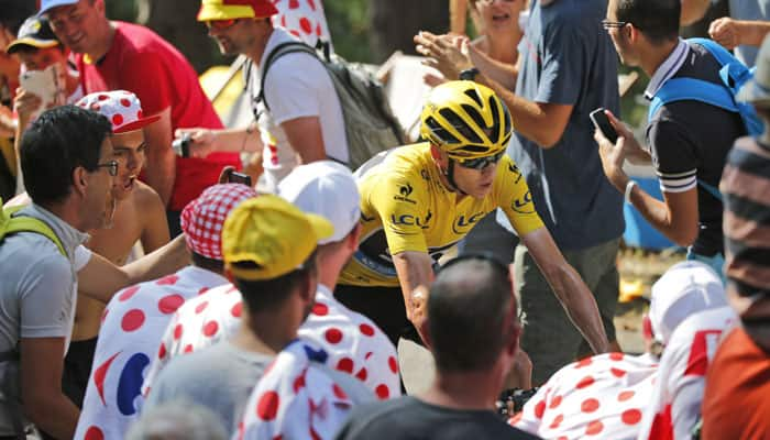 Tour de France: Fearless Chris Froome accepts paying for others` crimes