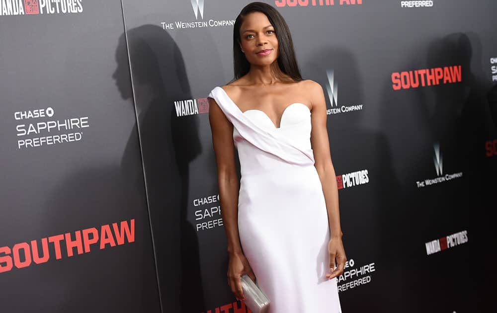 Actress Naomie Harris attends the premiere of