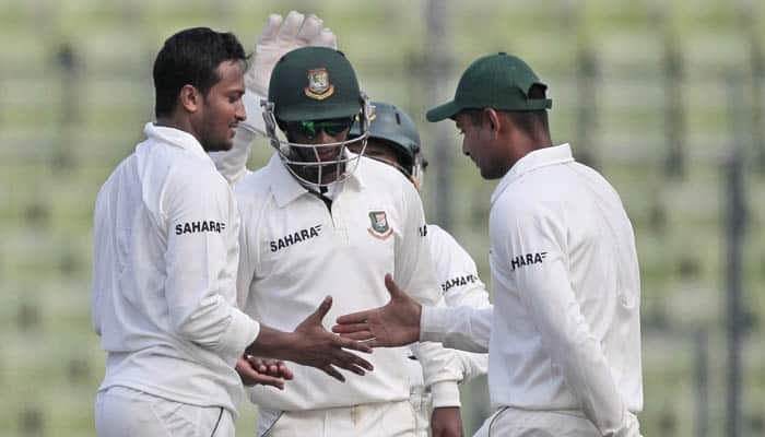 South Africa 248 all out in first innings against Bangladesh