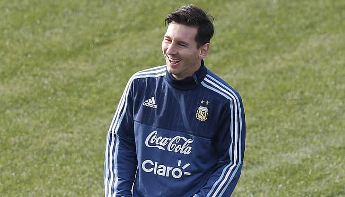 'Lionel Messi is Pele of this generation'
