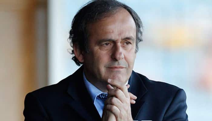 UEFA chief Michel Platini hopes 'new leadership' will solve FIFA's woes