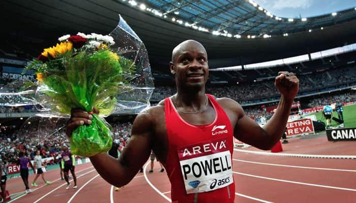 Asafa Powell runs 9.87sec in last outing before worlds