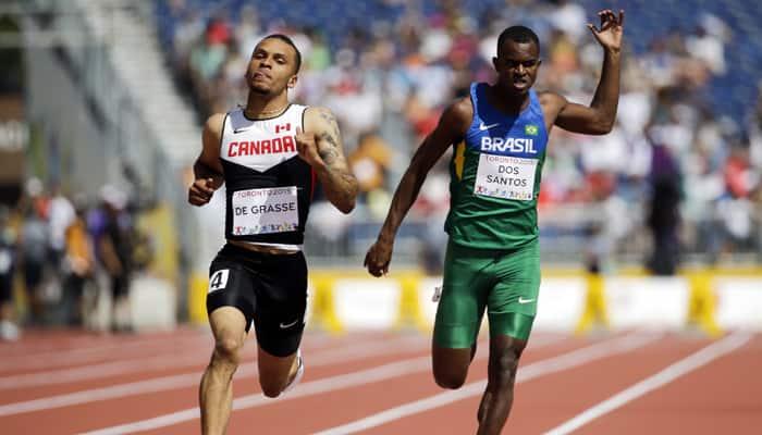 Andre De Grasse wins 100m title; St. Lucia strikes Pan Am gold