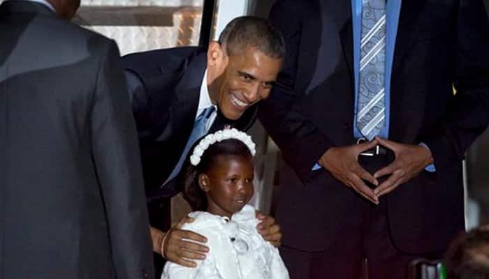 Barack Obama in Kenya for security, human rights talks