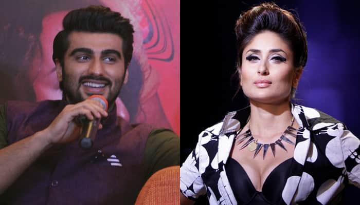 What role is Kareena Kapoor Khan playing in film opposite Arjun Kapoor?