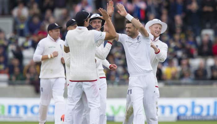 3rd Ashes Test, Day 1: James Anderson's six-fer puts England in drivers seat
