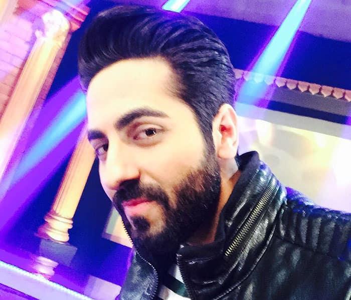 Ayushmann Khurrana :- Such a beardo! #nofilter #beard #leather -instagram