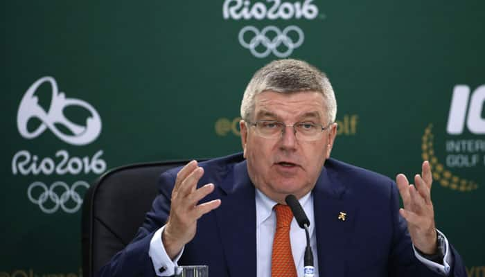 2016 Rio Olympics work to go on to last minute: Thomas Bach