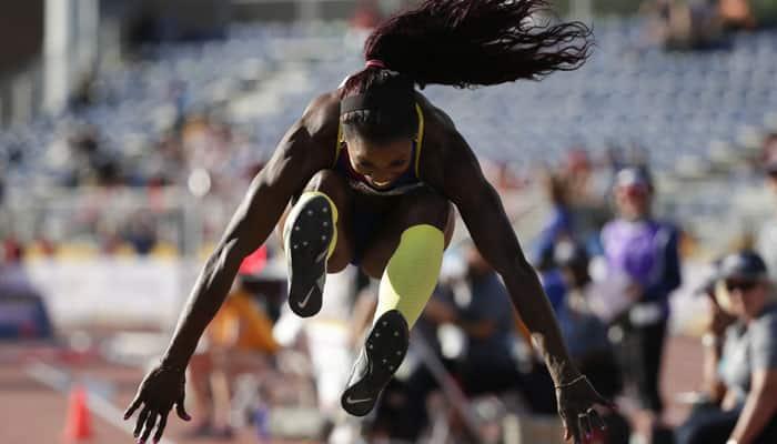 Caterine Ibarguen leaps to 28th successive triple jump win