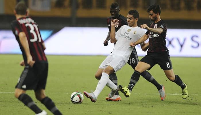 Real Madrid beat AC Milan 10-9 on penalties