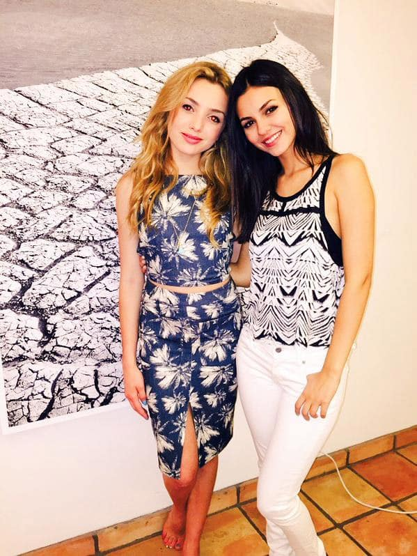 Excited to see my friend @peytonlist tonight in her new show #BUNKD on Disney Channel. Check it out. Twitter@VictoriaJustice