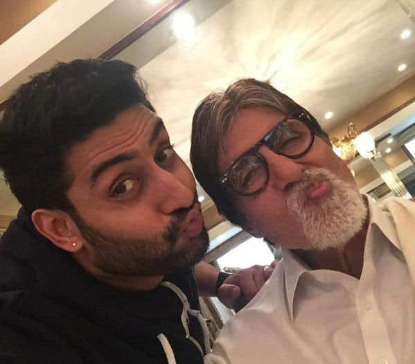Amitabh Bachchan :- T 1949 - When your son starts wearing your shoes he is no longer a son he is your friend .. my friend, Abhishek ..  -twitter