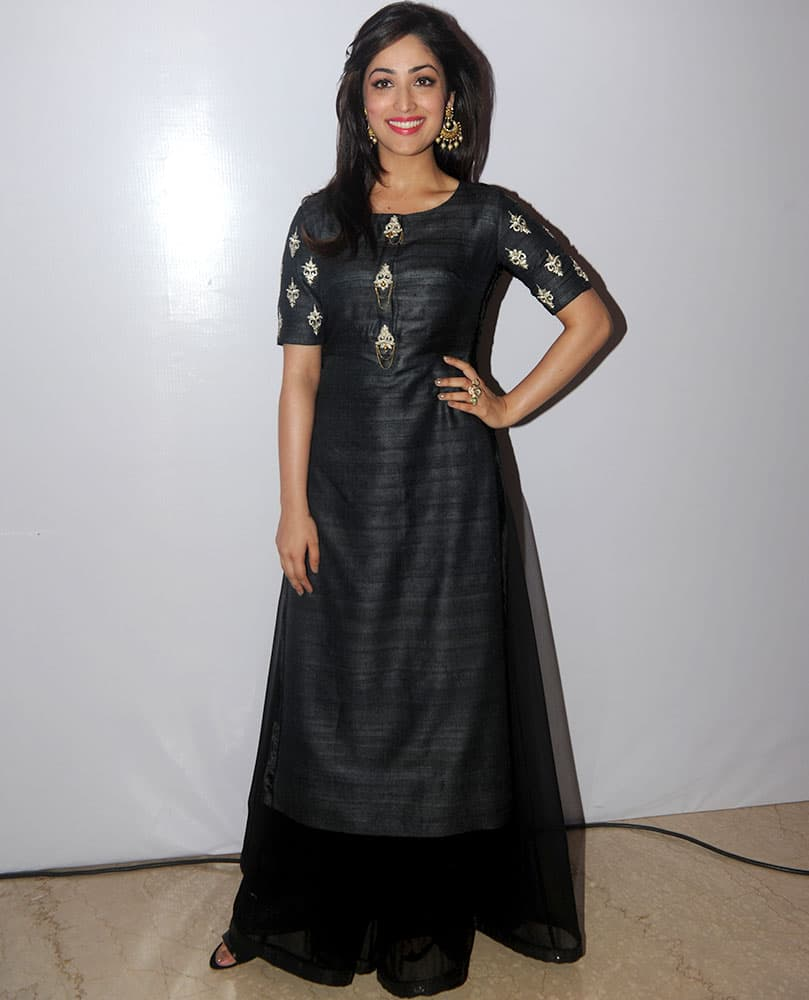 Yami Gautam during Smile Foundation fashion show in Mumbai. -dna