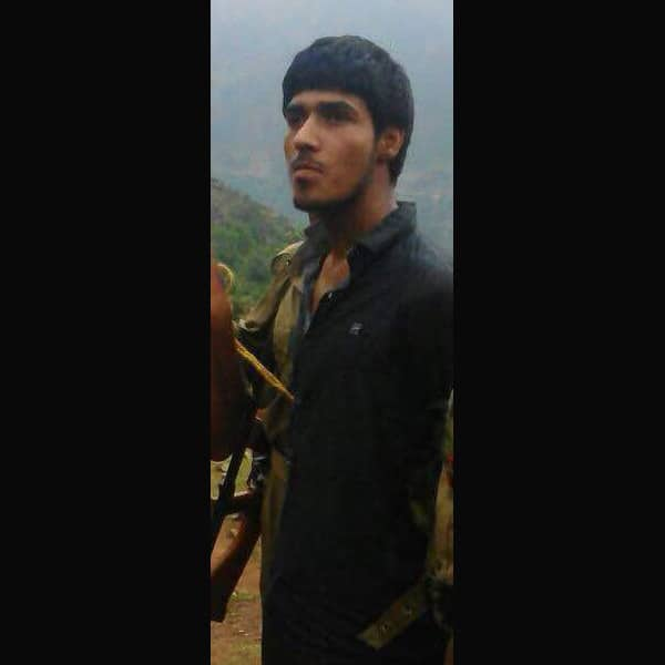 Picture of one of the purported terrorists nabbed by security forces in Udhampur (J&K). Twitter@ANI_news