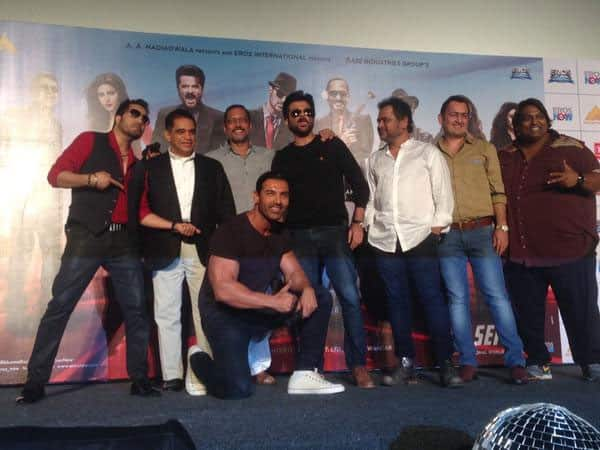 Great launch of the title track of #WelcomeBack.. Had a great time with @AnilKapoor @TheJohnAbraham & Nana Patekar. Twitter‏@MikaSingh