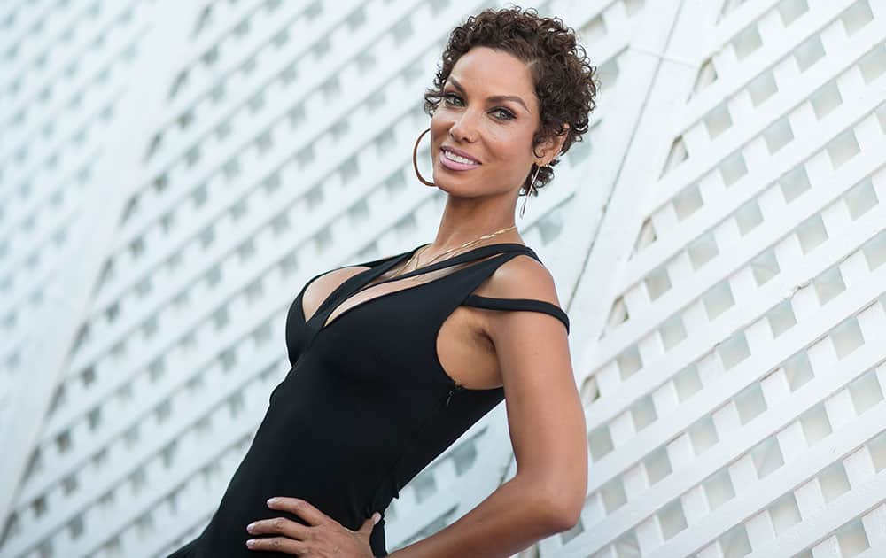 Nicole Murphy attends HollyRod's 17th Annual DesignCare Gala held at The Lot Studios  in West Hollywood, Calif.