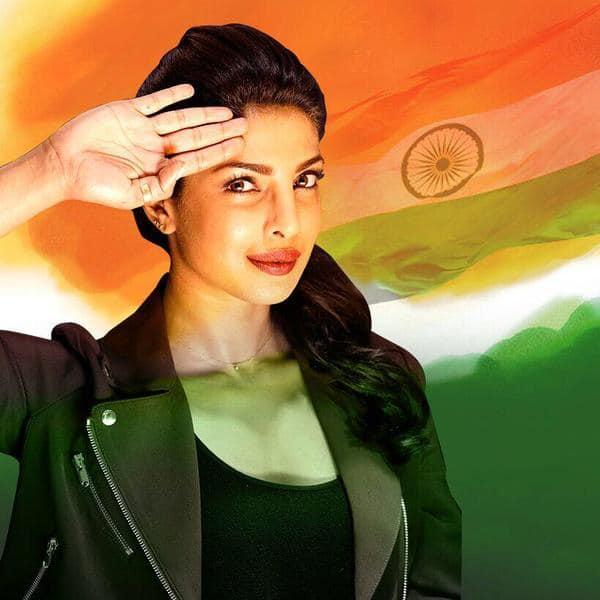 It has to be the two best salute selfies @iamsrk @priyankachopra. You both are pride of our India <3 #SaluteSelfie. Twitter