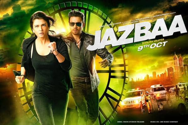 Check this one out, can't wait for the trailer now! All the best team #Jazbaa @_sanjaygupta @girishjohar - Twitter@TusshKapoor