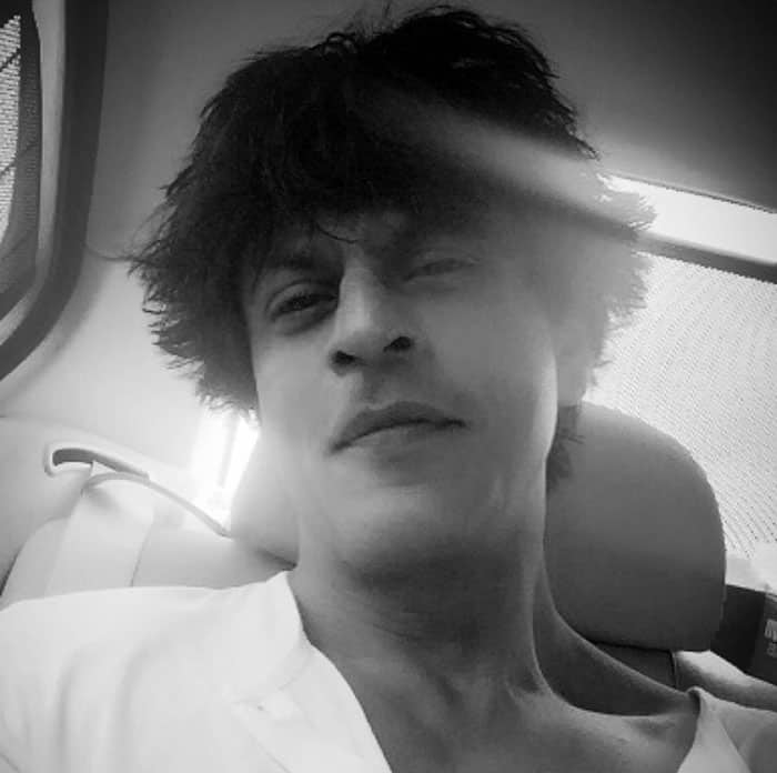Shah Rukh Khan :- Control ur mind,ur destiny,control ur life...Nonsense. I can't even control my gravity defying hair in the mornings! -twitter