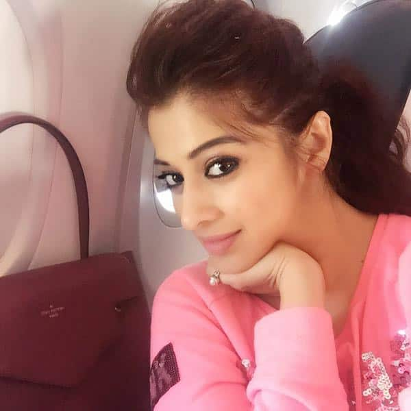 Airfieeee so happy to be back to my home sweet home had a hectic journey in last 24 hrs #restmode Twitter@iamlakshmirai