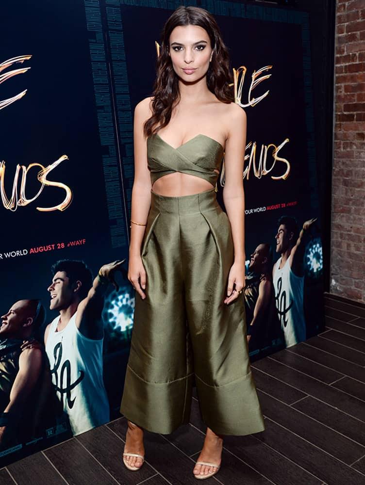 Actress Emily Ratajkowski attends the