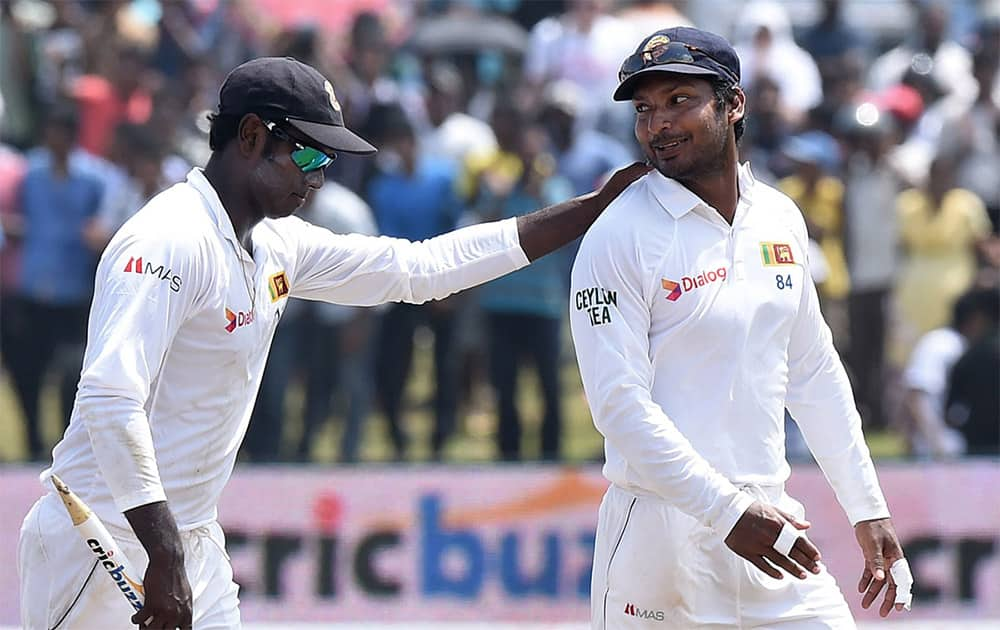 Kumar Sangakkara's farewell Test