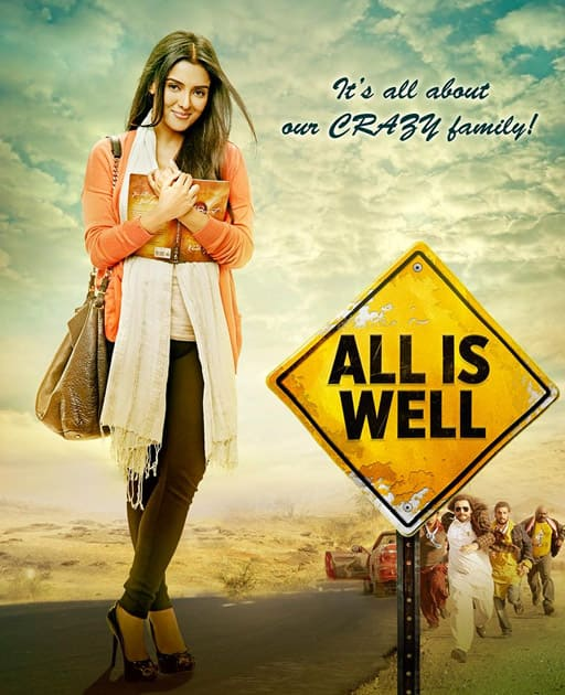 Do you also have one Crazy family? If yes then we are sure you would connect with @AllisWellFilm. Twitter@AllisWellFilm