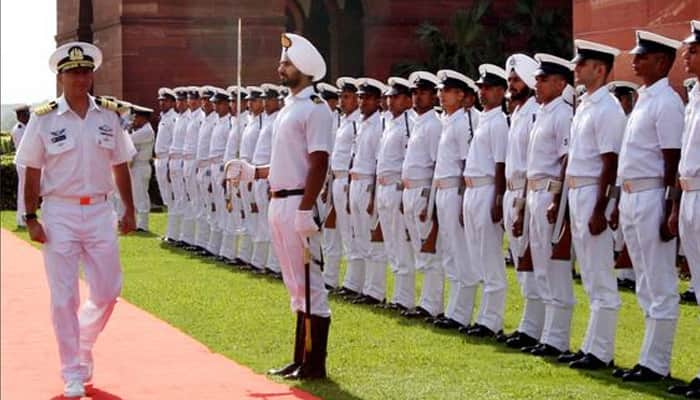 Indian Navy gives guard of honour to Israeli Navy Chief Ram