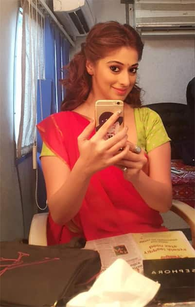 From the sets of #sowkarpettai. Twitter@iamlakshmirai