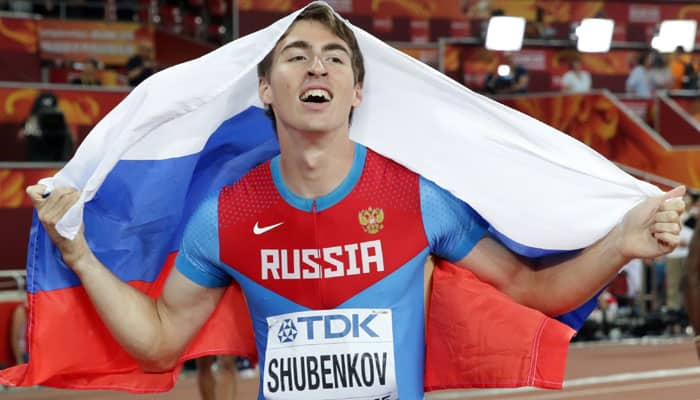 Surprises galore in hurdles  Russian Sergey Shubenkov wins men s title a625ec6145bed