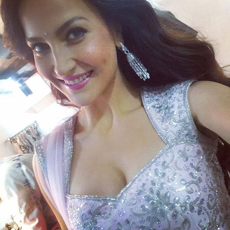 Elli Avram :- Don't miss me tonight at &TV on The Voice India Grand finale!! #thevoice #grandfinale… -instagram