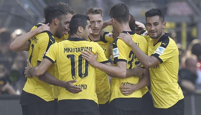 Borussia Dortmund reclaim Bundesliga top spot from Bayern Munich with Hertha win